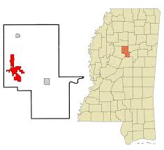 Mississippi Zip Code Map by Winona Mississippi Wikipedia