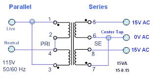mains voltage power transformers delabs