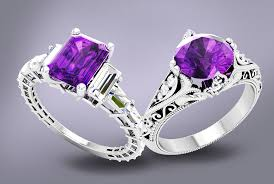 natural amethyst rings images A buyer 39 s guide to amethyst qualities natural aaa vs aa vs a jpg