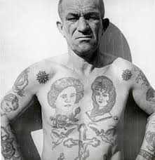decoding russian criminal tattoos u2013 in pictures art and design
