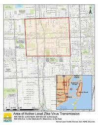 Maps Google Com Miami by New Zika Zone Found In Miami Nbc News