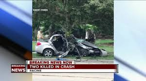 2 dead after car crashes into tree in racine tmj4 milwaukee wi