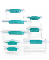 martha stewart kitchen canisters martha stewart collection 16 meal prep container set