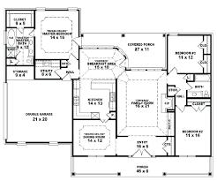 5 bedroom 3 bath floor plans 5 bedroom house plans one story 4 bedroom house plans one level