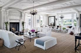 glamorous homes interiors at home with louise and vince camuto the htons this is