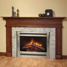 fireplace mantel ideas architecture stone with wooden excerpt tile