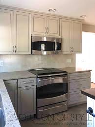 gray painted kitchen cupboards anew gray kitchen cabinets evolution of style