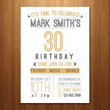 30th birthday party invitations hipinvestor info