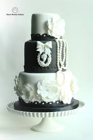 black and white wedding cakes vintage black and white wedding cake cakecentral
