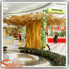 cheap price large outdoor artificial gold banyan trees buy large