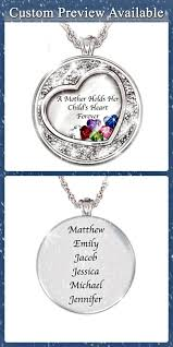 mothers necklace with kids birthstones s day gifts for 2018 20 gift ideas she ll