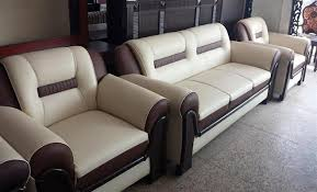 creamy theme sofa set by aaraish designs at home design