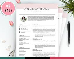 Resume Template Website Resume Template Etsy
