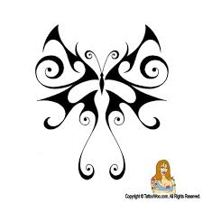 tribal butterfly design by jsharts on deviantart