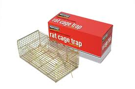 pest stop rat cage trap amazon co uk garden outdoors