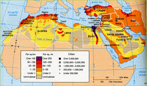 Southwest Asia Map by Middle East Geography