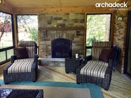 outdoor fireplaces vs fire pits u2013 outdoor living with archadeck of
