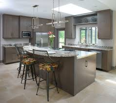 kitchen island with bar top kitchen island with granite eating bar top and stainless cooking