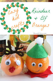 holiday fun with orange craft ideas desert chica