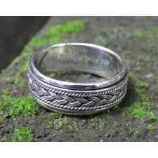 worry ring silver worry ring spinner ring unisex men s ring sr 264 ka
