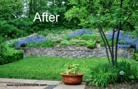 Landscaping Ideas For A Sloped Backyard by How To Turn A Steep Backyard Into Terraced Garden Designrulz