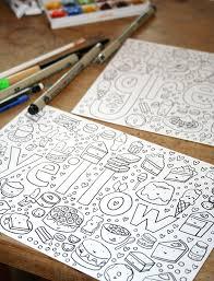 coloring book free tutorial
