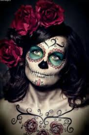 Sugar Skull Halloween Makeup 9 Best Body Paint Images On Pinterest Body Paint Neon And