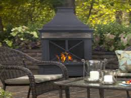 Outdoor Chimney Fireplace by Outdoor Propane Fireplace Crafts Home