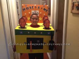 ironic halloween costumes original diy costume idea whac a me arcade game diy costumes