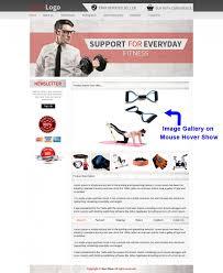 Listing Templates Beautiful Ebay Store Templates Readymade Fitness Theme Ebay