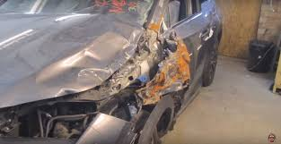 lexus used cars stoke body shop mechanic brings crashed lexus nx back from the brink