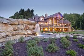log house wisconsin log homes