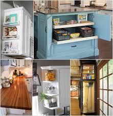 kitchen cabinet end ideas clever kitchen end of cabinet storage ideas