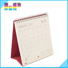 Desk Daily Calendar 2016 Spiral Bound Table Or Desk Daily Calendar Book Printing Buy