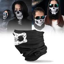 motorcycle skull ghost face windproof mask outdoor sports warm ski