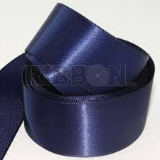 navy blue satin ribbon clearance navy blue faced satin ribbon wholesale ribbon
