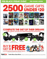 gamestop drops black friday week ad