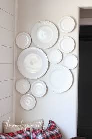 seize the whims random act of hanging plates the how to hang plates on the wall wood grain woods and walls