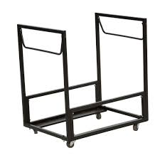 home depot banquet table lifetime residential chair cart in black 80279 the home depot
