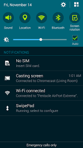 screen mirroring android adds chromecast screen mirroring support for samsung galaxy
