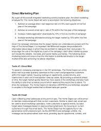 home depot marketing plan the home depot imc plan october 2014