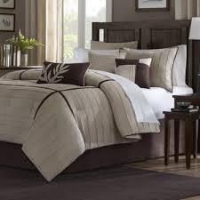 Brown And Cream Duvet Covers Modern California King Bedding Sets Allmodern