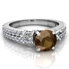 quartz engagement ring smoky quartz engagement ring r26436rd wsmky