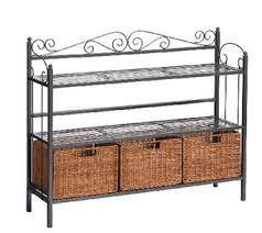 Metal Bakers Rack Bakers Racks U2014 Storage U0026 Organization U2014 Kitchen U0026 Food U2014 Qvc Com