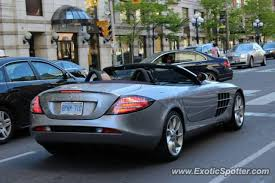mercedes toronto mercedes slr spotted in toronto canada on 05 25 2013 photo 2