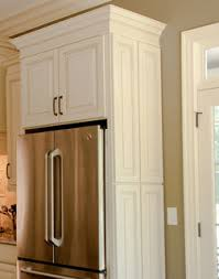 cabinet enclosure for refrigerator decorative doors cliqstudios com traditional minneapolis by