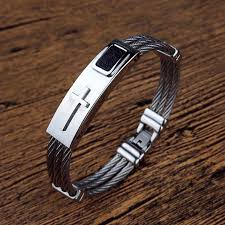 man bracelet cross images Christian jewelry shop love god jpg