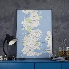Interactive Westeros Map Westeros Google Map Poster Needs Walking Horseback And Hodor