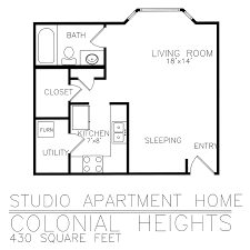 Residential Living Floor Plans