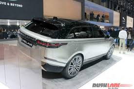 land rover velar 2017 unveiled range rover velar at the 2017 geneva motor show
